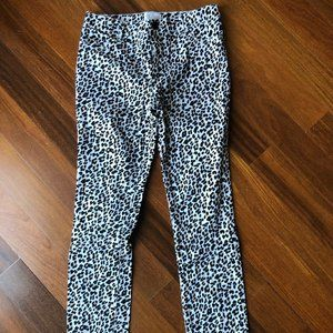 Cheetah / Leopard / Jaguar Print Sz 12 Pants